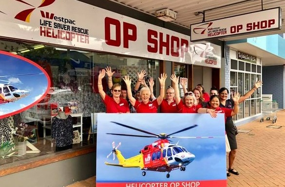 Westpac Life Saver Rescue Helicopter Op Shop
